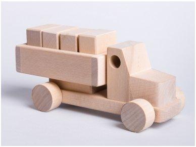 Sunkvežimis su kaladėlėmis 2