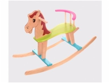 Rocking horse ''Colourful''