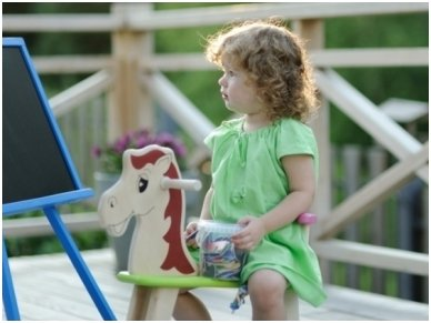 Rocking horse ''Colourful'' 4