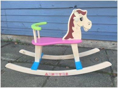"""Supamas arkliukas """"Rožinis"""" 5"""