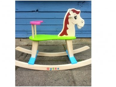 Rocking horse ''Colourful'' 7