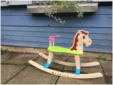 Rocking horse ''Colourful'' 3