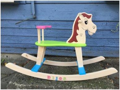 Rocking horse ''Colourful'' 5