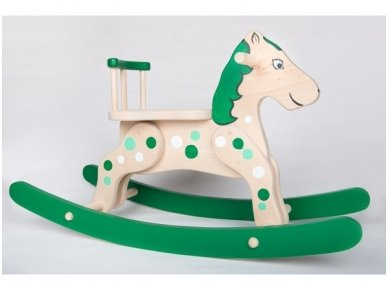 """Supamas arkliukas """"Žaliasis"""""""