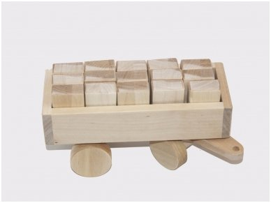 Tractor with blocks 4