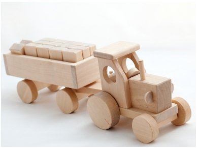 Tractor with blocks 2