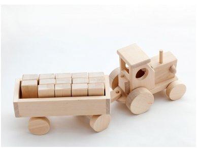 Traktorius su kaladėlėmis 3