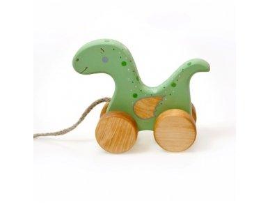 Traukiamas dinozauras