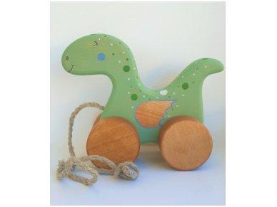 Traukiamas dinozauras 5