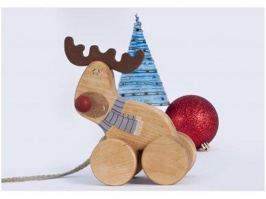 """Traukiamas elniukas """"Rudolfas"""""""