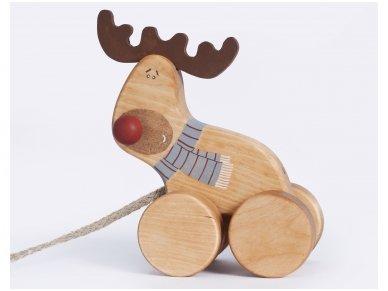 """Traukiamas elniukas """"Rudolfas"""" 2"""
