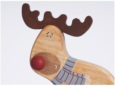 """Traukiamas elniukas """"Rudolfas"""" 4"""