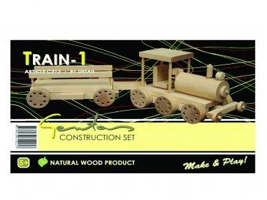 Traukinys-konstruktorius 2