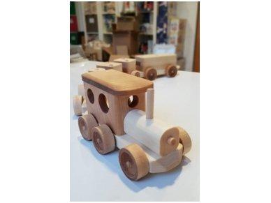 Traukinys su kaladėlėmis 3
