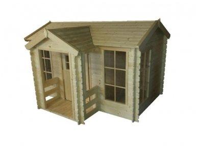 Vaikiškas medinis namelis 3