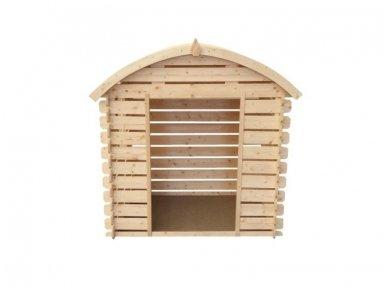 Vaikiškas medinis namelis