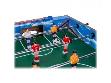 Vaikiškas mėlynas stalo futbolas 4