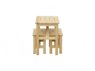 Vaikiškas staliukas su suoliukais 3