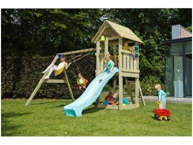 """Vaikų žaidimo aikštelė """"Fėja"""" su sūpynėmis"""