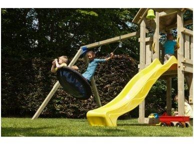 """Vaikų žaidimo aikštelė """"Fėja"""" su sūpynėmis 3"""