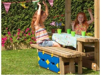"""Vaikų žaidimo aikštelė """"Rožė"""" 4"""