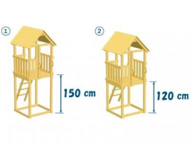 """Vaikų žaidimo aikštelės kompleksas """"Fėja"""" 7"""