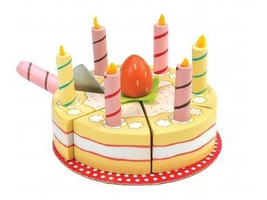 Vanilinis gimtadienio tortas