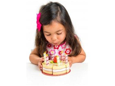 Vanilinis gimtadienio tortas 2