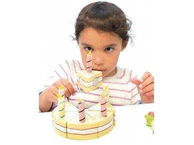 Vanilinis gimtadienio tortas 4