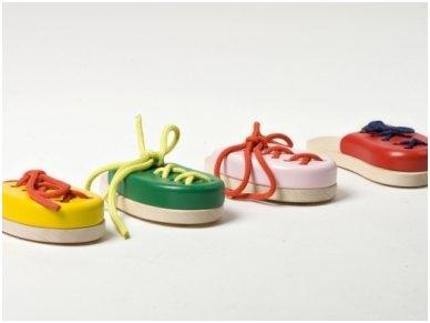 Laceable shoe 6