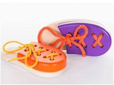Laceable shoe 2
