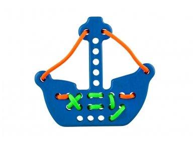 Varstomas žaislas laivas