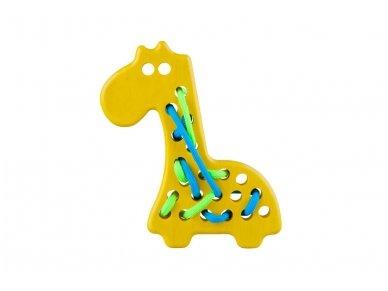 Varstomas žaislas žirafa