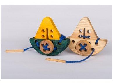 Varstymo žaislas ''Laivelis''