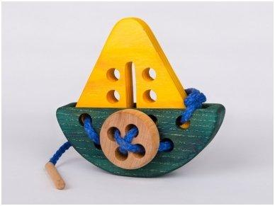 Varstymo žaislas ''Laivelis'' 3