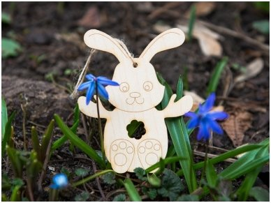 Easter bunny ornament 5