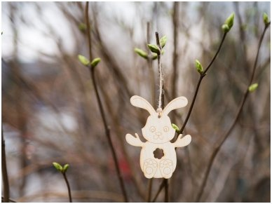 Easter bunny ornament 3