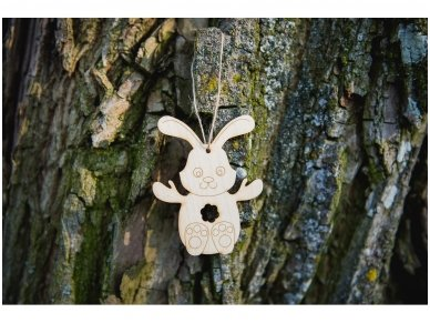 Easter bunny ornament 7