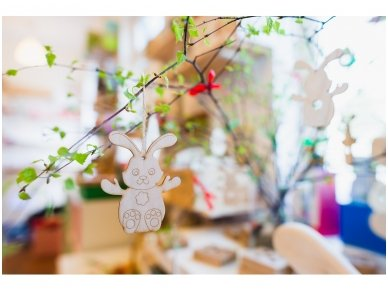 Easter bunny ornament 9