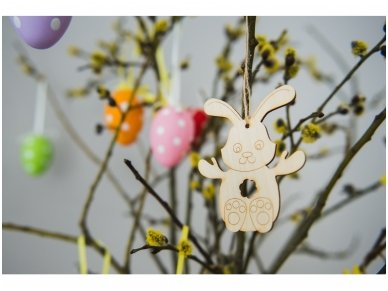 Easter bunny ornament 10