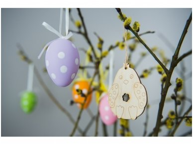 Easter chicken ornament 5