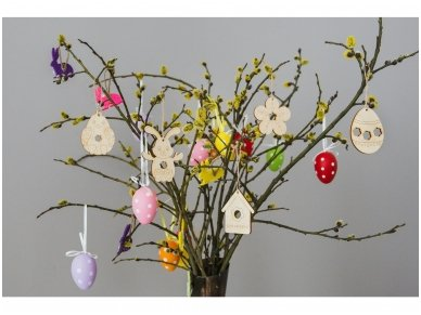 Easter chicken ornament 6