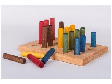 Game ''Hedgehog'' with Sticks 2