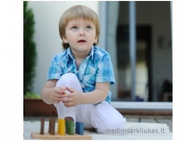 Žaidimas su pagaliukais ''Ežiukas'' 5