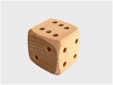 Wooden dice 2