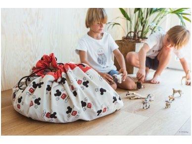 """Žaidimų kilimėlis-krepšys """"Mikis"""" 3"""