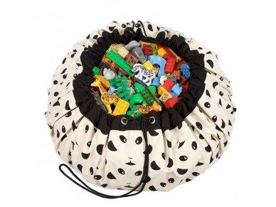 """Žaidimų kilimėlis-krepšys """"Pandos"""""""