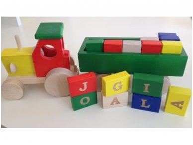 Žaislo graviravimas - vardiniai žaislai
