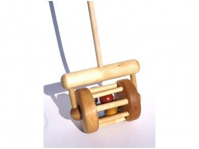 Stumiamas žaislas riedukas 2