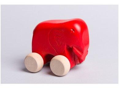 Little elephant on wheels 10